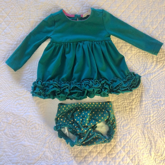 Matilda Jane Dress and Bloomers